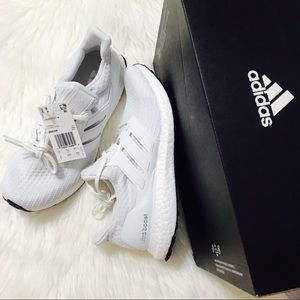 {adidas} UltraBOOST Caged All White